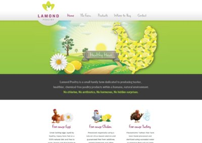 Lamond Poultry website