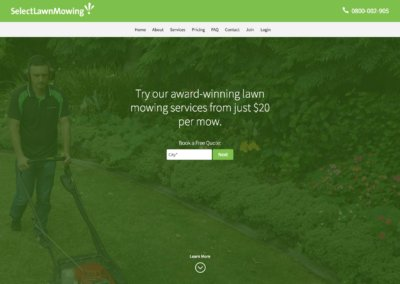 Select Lawn Mowing