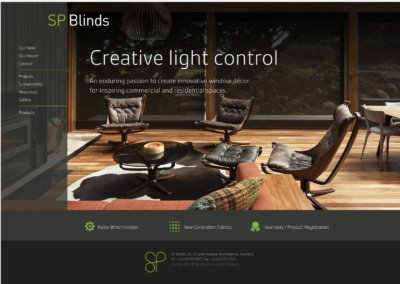 SP Blinds website